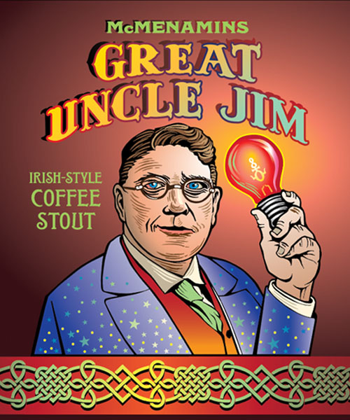 Great Uncle Jim Irish Coffee Stout