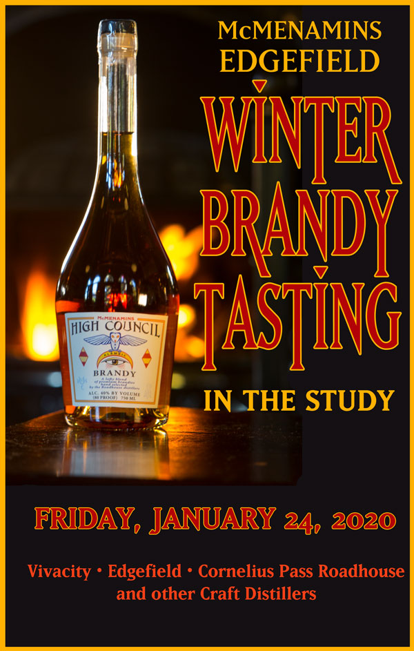 Winter Brandy Tasting