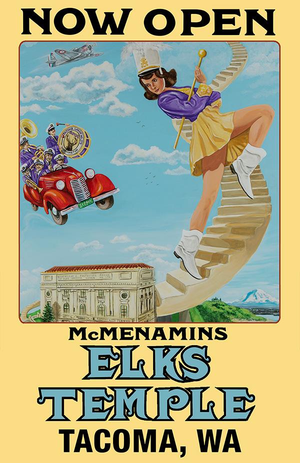 Elks Temple is open!