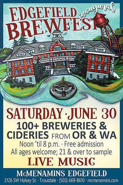 Edgefield Inaugural Brewfest