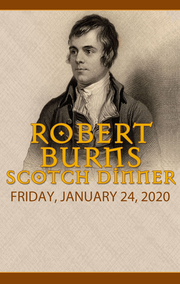 Robert Burns Scotch Dinner AS