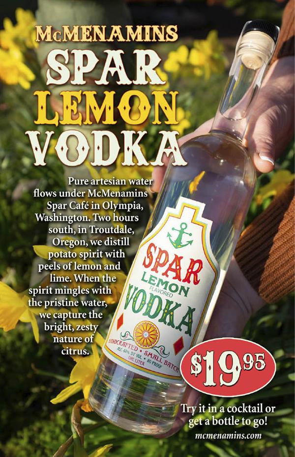 Spar Lemon Vodka