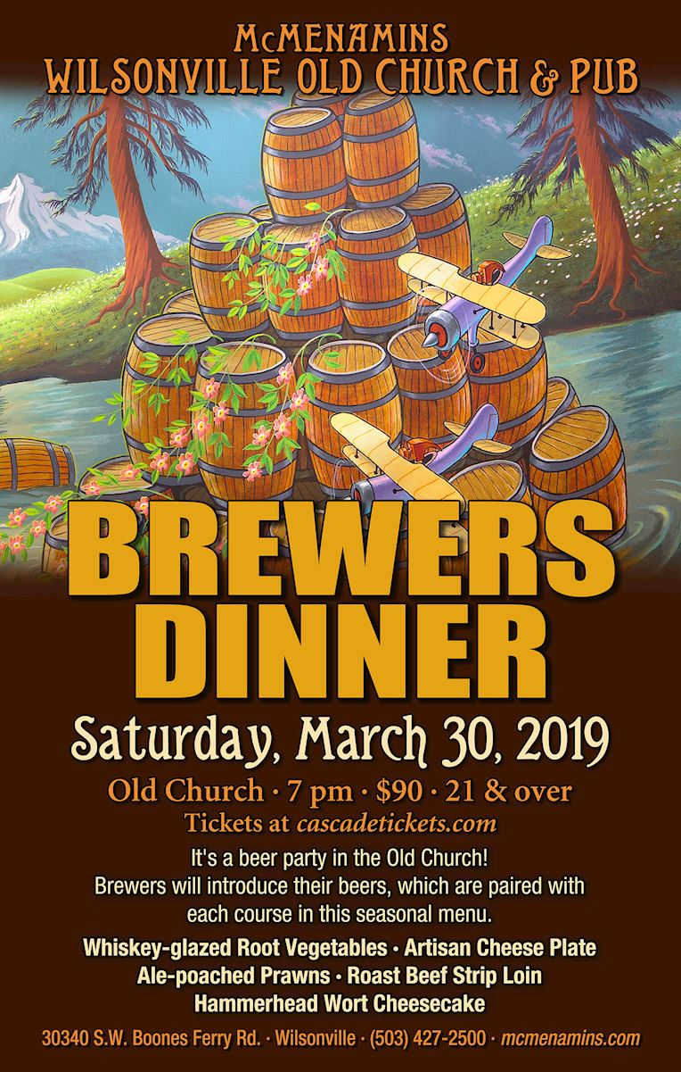 Old Church and Pub Brewers Dinner