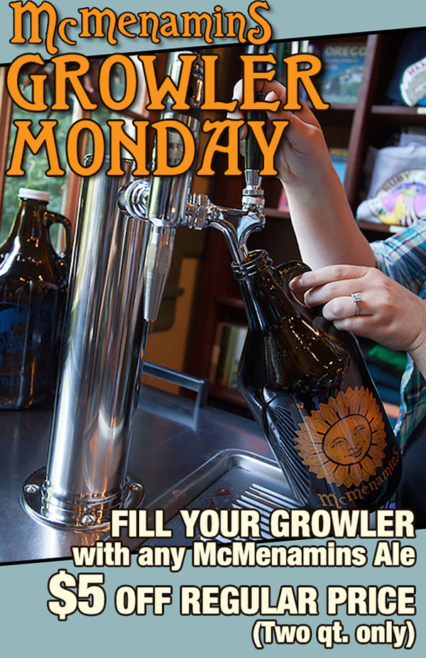 Growler Mondays