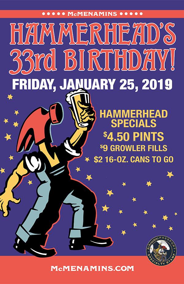 Hammerhead 33rd Birthday