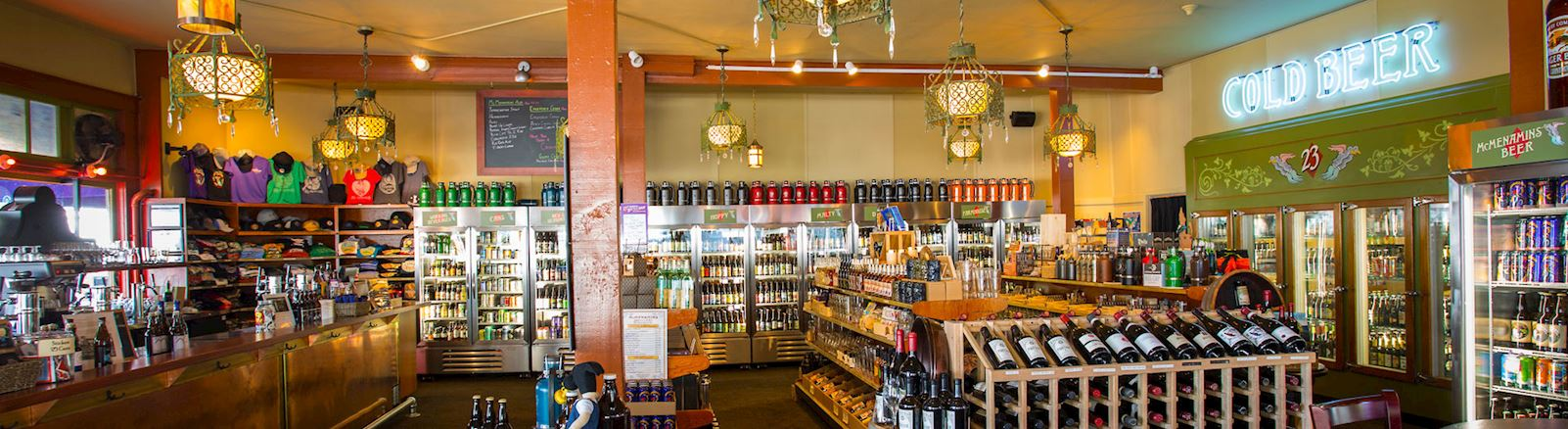 <h3>23rd Avenue Bottle Shop is open, selling beer, wine and spirits!</h3>
