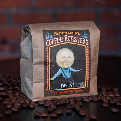 McMenamins Decaffeinated Coffee