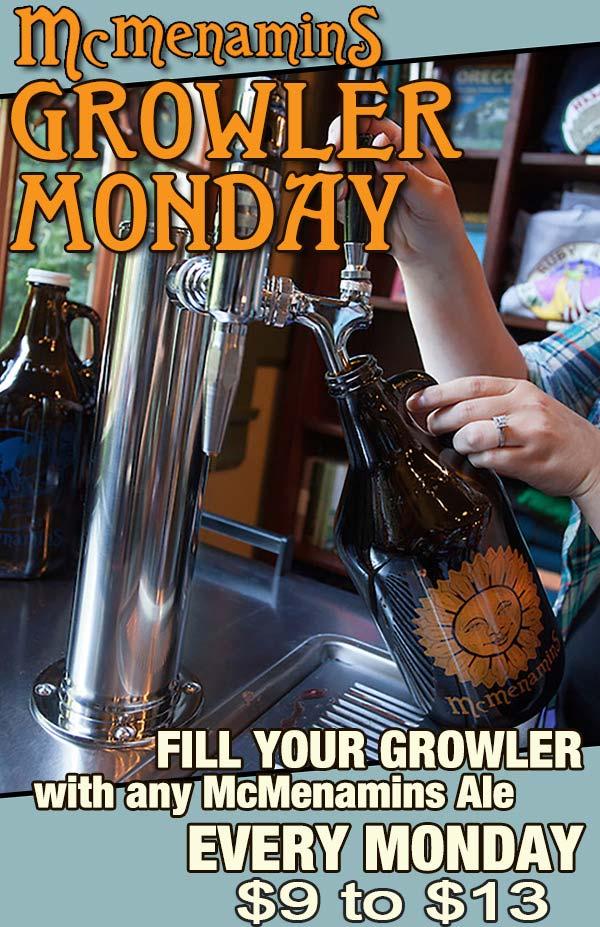 Growler Mondays