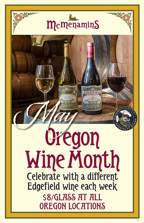 Oregon Wine Month
