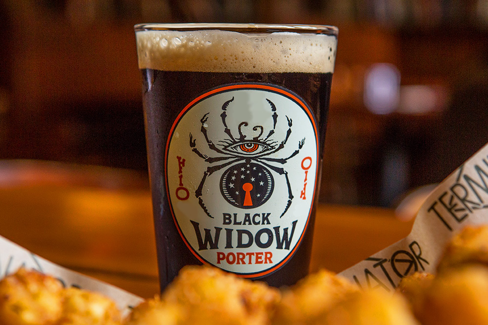 Black Widow Porter
