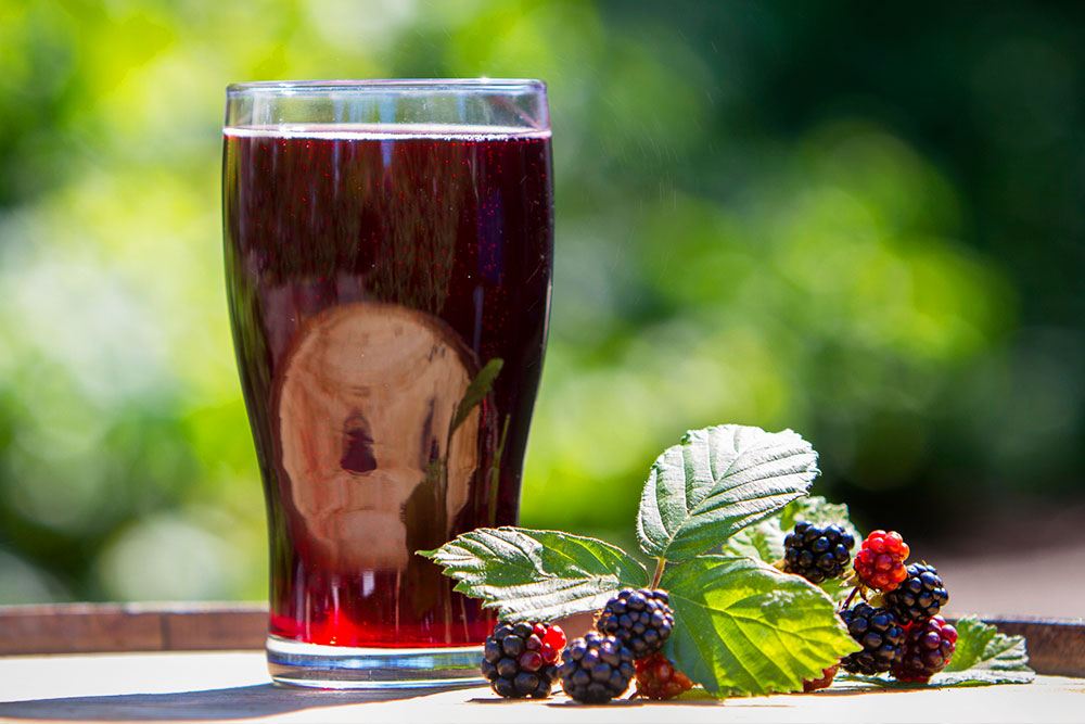 Seasonal Blackberry Cider
