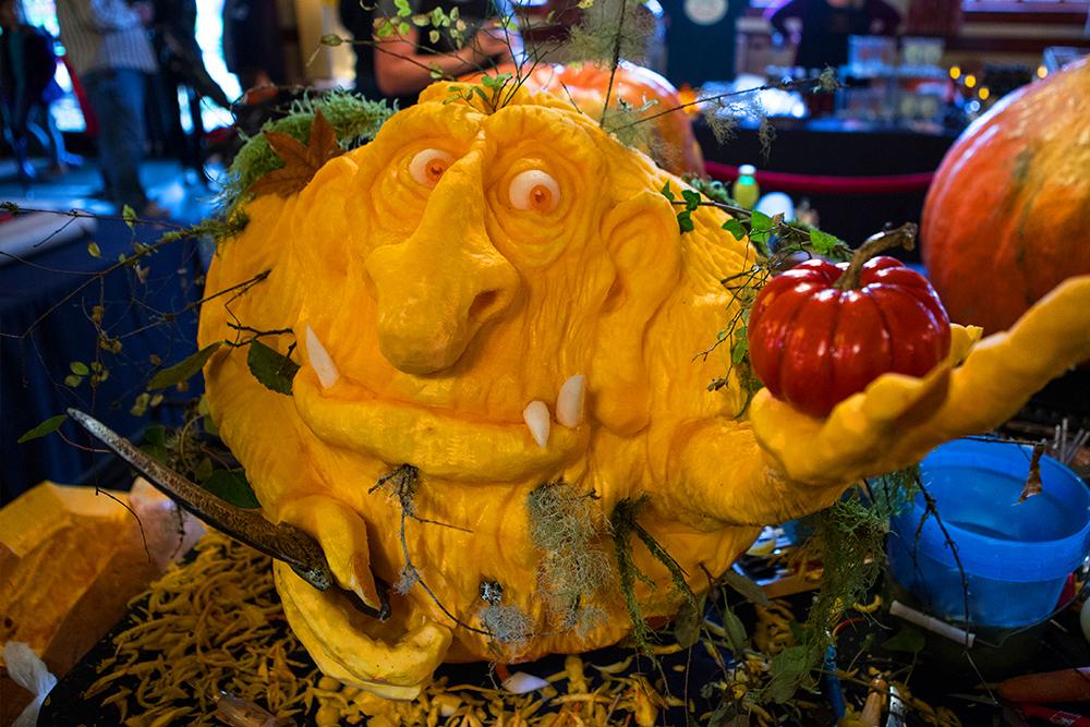 Poor Farm Pumpkin Patch & Carving Challenge