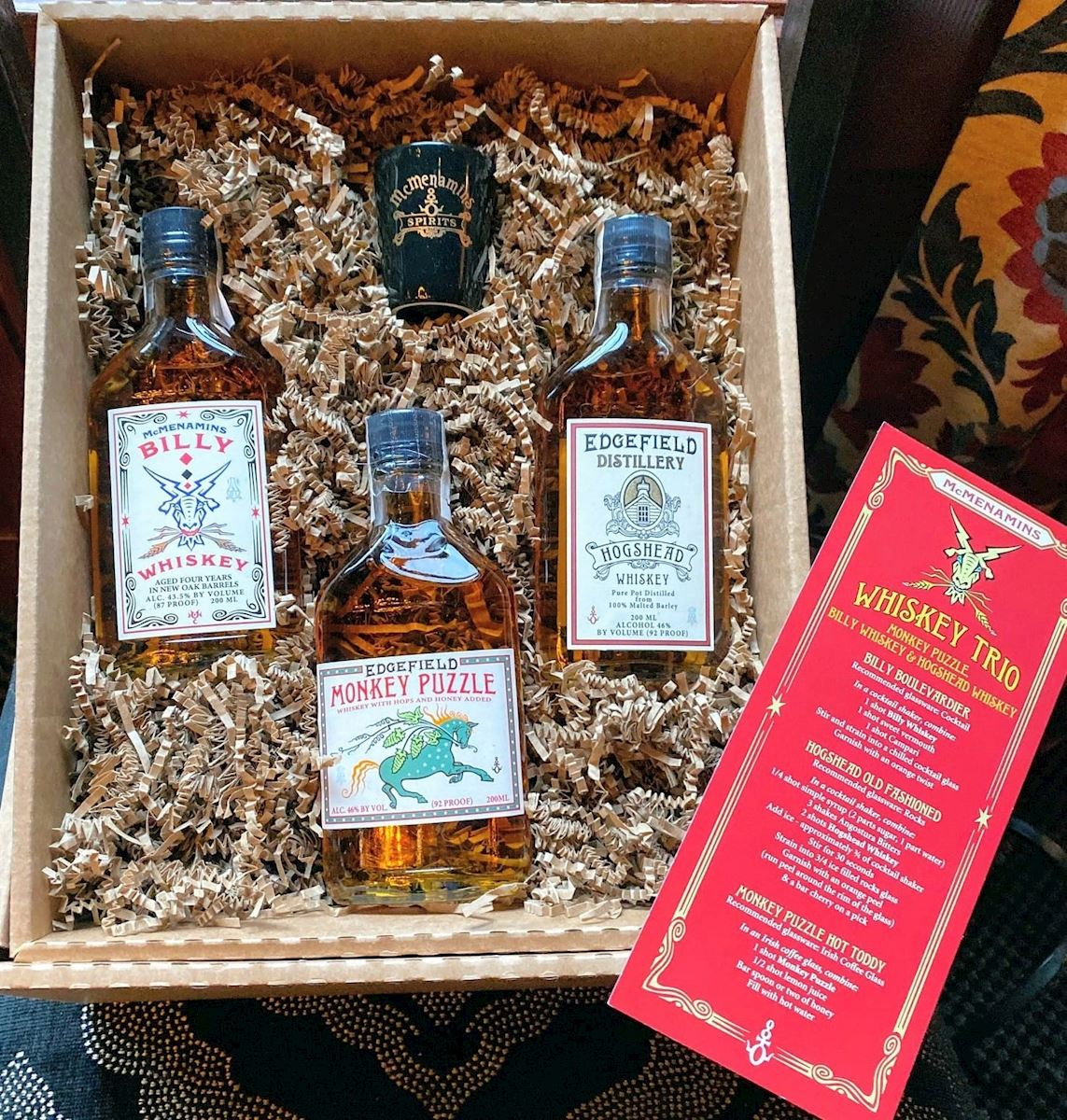 Whiskey Trio Gift Pack